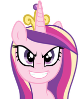 Princess Cadence Evil Version 2 by AndreaSemiramis