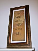 The Earth Without Art by KimNichole