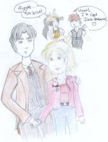 Red String Doctor Who Coloured by GracieLizzy