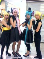 Vocaloid cosplay by Aname-Girl