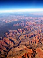 the Grand Canyon by CoolBlueAquarius