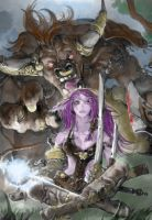 World of warcraft colouring by MythicalArtist1027
