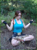 Lara Croft - Meditation by Val-Raiseth