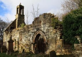 church ruins1 -stock by 6lell9-stock