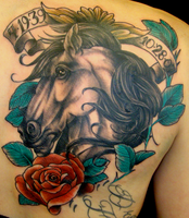 horse head cover up by mechaphenomenon