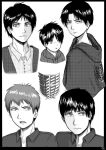 Attack on Titan sketches by SamuraiWARRIOR7