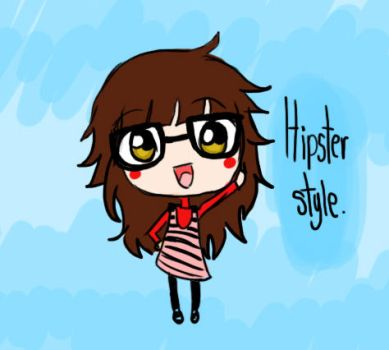 hipster style lol by tsubasachroniche