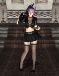 Pose - Ayane in 'Welcome to the Force' by Lhacrimosa