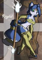 Krystal again by TheBurningDonut