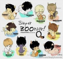 animal version of super junior members by blue-tomorrow