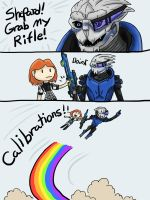 Adventures with Garrus by Hazeloop