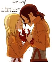 Ymir And Christa by Jazzie560