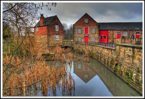 Bedgrave Mill Pond... by TheBaldingOne