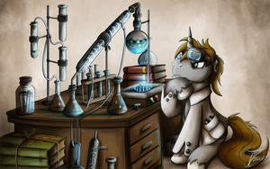 Fanart - MLP. Vortex's Experiments by jamescorck