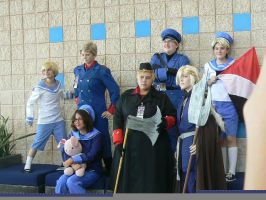 Metrocon- Hetalia Group 10 by Wolfie0412