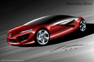 Mercedes Coupe Style Design Concept by toyonda
