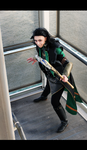 Loki Cosplay- Iron staircase by CauldronOfMischief