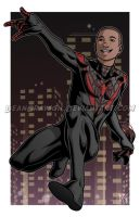 Spiderman by DeanGrayson
