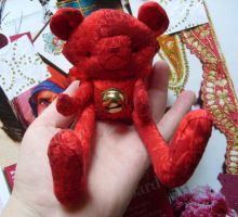 little cherry- collector bear by rosieok