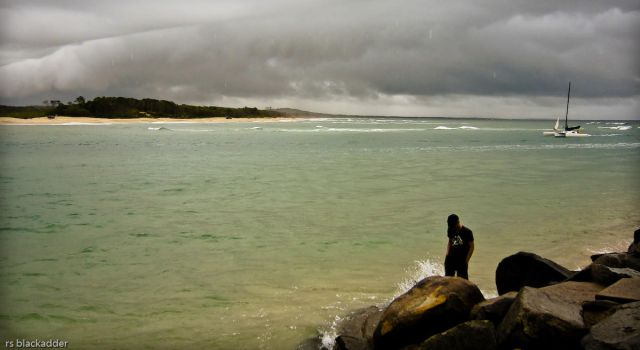 Noosa Heads in Rain by addr010