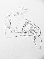2-Minute Life Drawing by PaulDS89