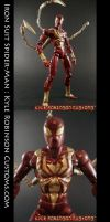 Custom Iron Suit Spider-Man by KyleRobinsonCustoms