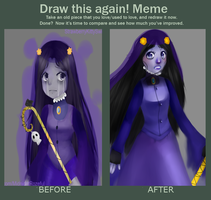 Misery Draw this again by StrawberryKittySwirl