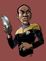 Tuvok- STAR TREK: VOYAGER by ShawnAtkinson