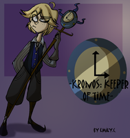 EDT: Kronos Keeper of Time by Freakly-Show