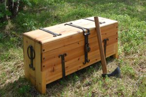 Viking tool chest by Wolfencourt