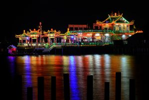 The Floating Temple by SAMLIM