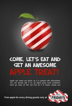 TGIFriday's Apple Treat Poster by TheDollMaster