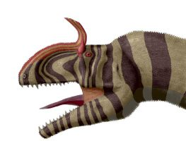 Cryolophosaurus colored by dracontes