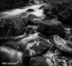 Furry Rocks BW by mjohanson