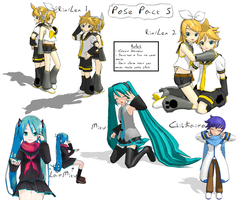 DOWNLOAD - Poses 5 by Drachryn