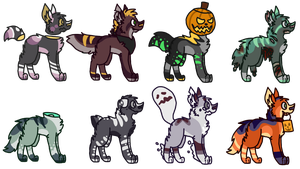 Spooky Adopts by jaspering