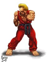 KEN: STREET FIGHTER IV by viniciusmt2007