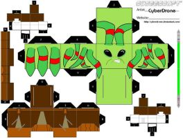 Cubee - Kit Fisto by CyberDrone