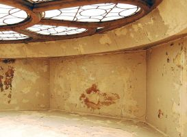 room with huge sky light by MLeighS