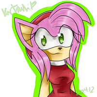Amy Rose by Kartsuli