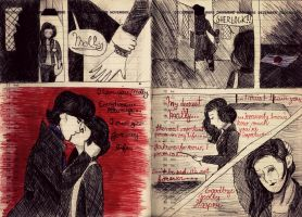 Sherlolly moment - comic by MuffinSarah