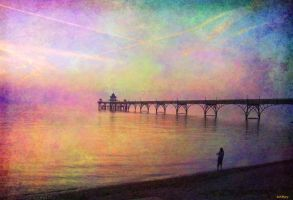 pastel pier 2 by katmary