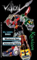 St. Louis '05 - Attendee Badge by Kunicon