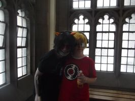Me an' Tez by That-Wacky-Whovian