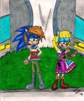 :COLORED: Skyward Sword: SonEmma by Sonicemma