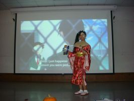 Me and Datas in Anime Club Halloween Party photo 3 by Magic-Kristina-KW