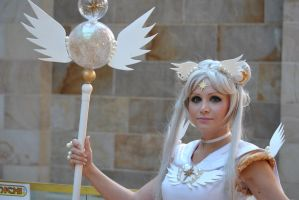 Sailor Moon - Sailor Cosmos by Silver-Nightfox
