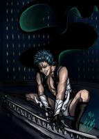 Supervillain Grimmjow by ebjeebies