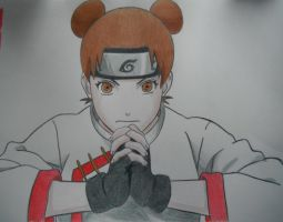 Tenten 2 - Naruto Shippuden by rossparsons