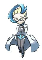 Colress sorta chibi by MellowMeloetta